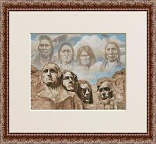 MT. RUSHMORE~COUNTED CROSS STITCH PATTERN ONLY