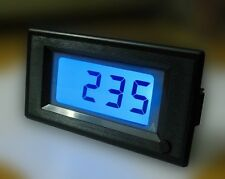DC 0-400A Digital Charge Discharge Current AMP Meter Backlight ON/OFF Switch ZS