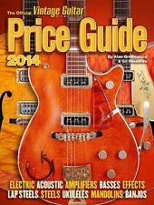 OFFICIAL VINTAGE GUITAR PRICE GUIDE 2014 Libro Inglese NEW .cp