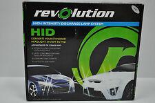 REVOLUTION H7 HID HEADLIGHT CONVERSION KIT XENON 12V 35W LAMP  62-96187