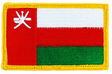 FLAG PATCH PATCHES OMAN IRON ON EMBROIDERED SMALL