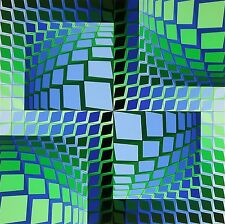 THEZ, Limited Edition Silkscreen, Victor Vasarely