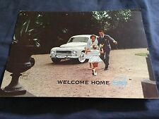 1961 Volvo PV 544 USA Market Color Brochure Catalog Prospekt