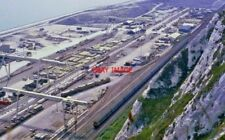 PHOTO  CHANNEL TUNNEL SITE. REDUNDANT N.G.  TRACK AND LOCOS ETC.  25.6.92