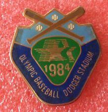 Pins Sport BASEBALL OLYMPIC DODGERS STADIUM 1984