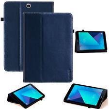 """Cover para Samsung Galaxy Tab s3 9,7"""", cuero, funda protectora bolso Smart Case azul"""