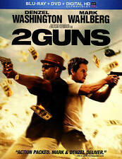 2 Guns Blu-ray 1-disc set no dc SEE DESC