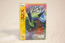Kolibri (Sega Genesis 32x, NTSC)  COMPLETE IN BOX MINT SHAPE! With Box Protector