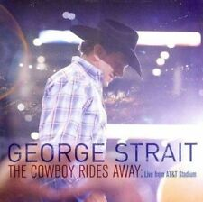 The Cowboy Rides Away: Live from AT&T Stadium by George Strait (CD, Sep-2014, MCA Nashville)