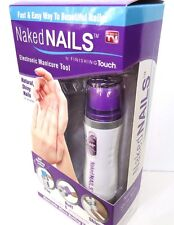 As Seen On TV - Naked Nails - Electronic Manicure Tool Finishing Touch - JG 4783