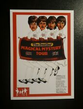 MAGICAL MYSTERY TOUR - BEATLES RARITIES trade card - RED 'Movie Posters' series
