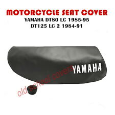 MOTORCYCLE SEAT COVER BLACK YAMAHA DT80LC 1985-95 DT125LC 2  1984-91  DT80 DT125