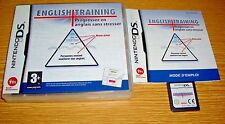 English Training (aprender inglés) Nintendo DS aprender juego