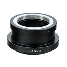 Ring Adapter for M42 Screw Mount Lenses to Nikon Z7 Z6 Cameras Replace FTZ