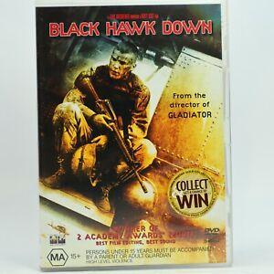 Black Hawk Down DVD 2002 Josh Hartnett Good Condition Free Tracked Post