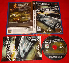 NEED FOR SPEED MOST WANTED Ps2 GT Versione Italiana 1ª Edizione ○ COMPLETO