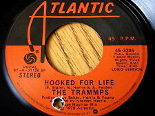"""THE TRAMMPS - HOOKED FOR LIFE    7"""" VINYL"""