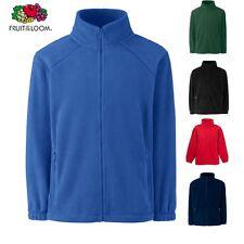 Unisex Boys Girls Kids Fleece Jacket Coat  School Winter FOTL