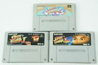 Street Fighter II Turbo Super Set SNES Capcom Nintendo Super Famicom From Japan
