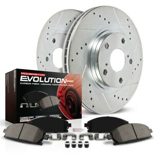 K5352 Powerstop Brake Disc and Pad Kits 2-Wheel Set Front New for Freelander