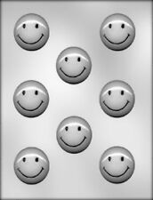 Smiley Face Chocolate Candy Mold from CK 8088 - NEW