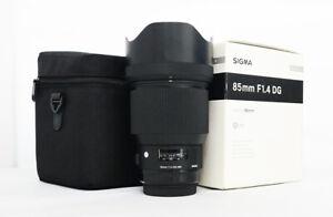 # Sigma Art 85mm F/1.4 HSM DG Lens For Canon S/N 51997441