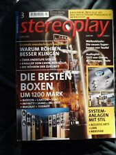 STEREOPLAY 3/01,ACOUSTIC ARTS DRIVE,DAC,AMP 1,CLASSIC 2,MERIDIAN 596,568,DSP 33