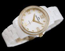 BISSET BSPD70 SNOW Ceramik SWISS MADE  Women's  Watches