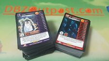 Dragon Ball Z Common + Uncommon Play Set! Panini DBZ TCG Movie Collection