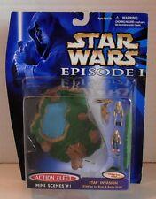 1998 Star Wars Episode I Action Fleet Stap Invasion Mini Scenes #1 by Galoob
