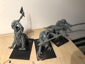 Drachenoger - Dragon Oger der Beasts of Chaos - unbemalt Plastik - 3 Stück