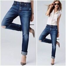 New 7 FOR ALL MANKIND JOSEFINA Skinny Button Fly Jeans Sz 26 ✨RT $198 ✨179033