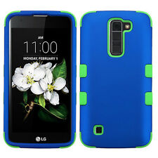 Anti-Shock Hard Plastic Case+Soft Rubber Skin Cover for LG Treasure L52VL K7