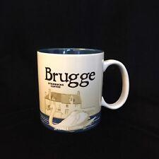 Starbucks Brugge Belgium Mug Swan Blue Canal Belgian België Icon New Bruges