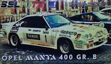 Opel Manta 400 GR. B - art. BEL009 - Belkits 1/24