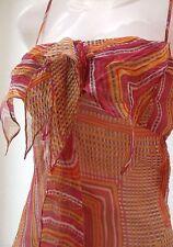 Karen Millen Women's Silk Strappy, Spaghetti Strap Tops & Shirts