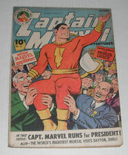 Captain Marvel  Adv  # 41.. VG-Fine..5.0 grade--be..1944 comic book