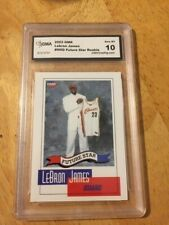 GRADED 2003 OMR LEBRON JAMES #NNO FUTURE STAR ROOKIE