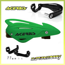 PARAMANI ACERBIS TRI FIT CROSS ENDURO MOTARD VERDE + KIT MONTAGGIO