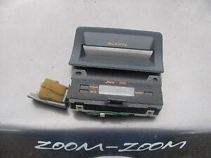 ★ Mazda Jeco 626 USED Dash Clock& Bezel ★ 1986 & 1987