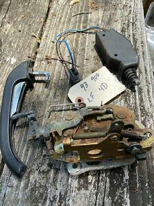 Door Mechanism/Lock Kit. Left Front. Saab 900 1990-93  4door Sedan