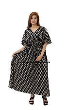 Womens Beach Party Clubwear Floral V Neck Straps Long Maxi Dress Kaftan Caftan