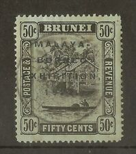 Brunei 1922 50c Exhibition SG58 Used Cat£170
