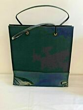Princess Marcella Borghese Large Black Tote Bag  Black patent PVC base