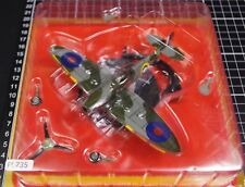 UK Supermarine Spitfire 1/72 Scale War Aircraft Japan Diecast Display 2PL9