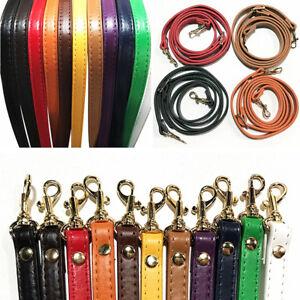 120cm PU Leather Handbag Handle Strap Cross Body Shoulder Bag Belt Replacement