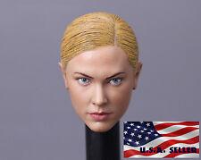 1/6 Kristanna Loken Head Sculpt Terminator 3 T-X For Hot Toys Phicen Figure USA