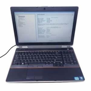 "Dell Latitude E6520 i5 2540m 2.6GHz 6GB 320GB HDD 15.6"" - No OS - BOOT TO BIOS"