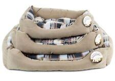 Camas de color principal marrón para perros