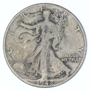 Better 1942-D - US Walking Liberty 90% Silver Half Dollar Coin Set Break *528